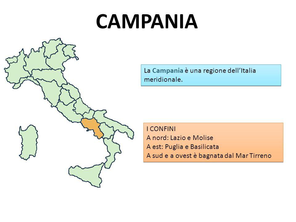 CAMPANIA La Campania è una regione dellItalia meridionale.