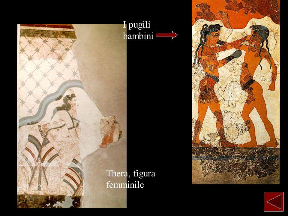 Thera, figura femminile I pugili bambini