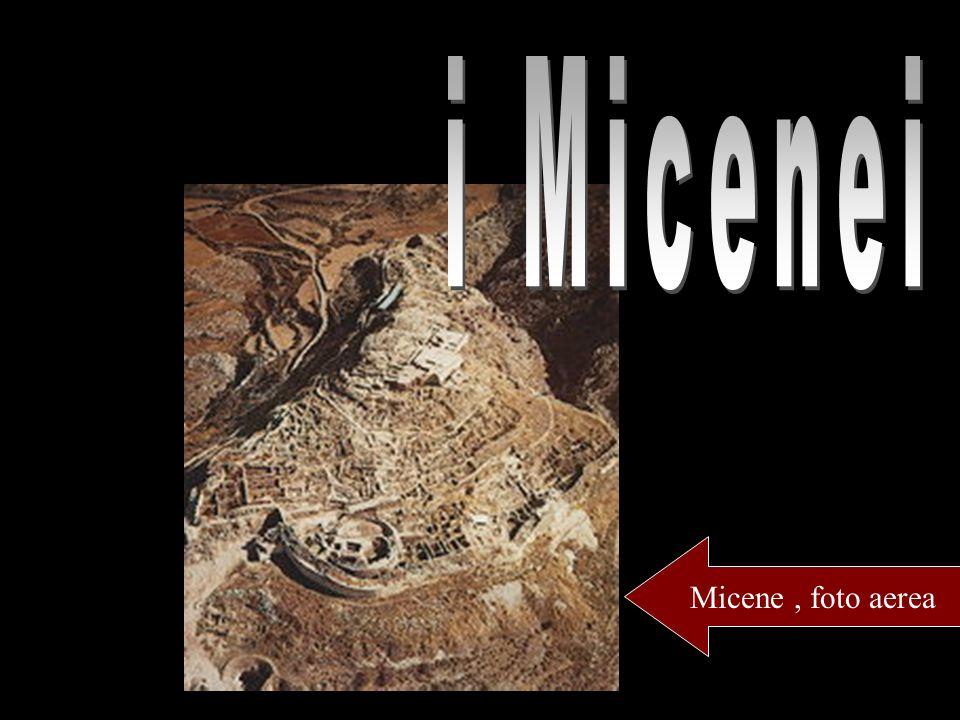 Micene, foto aerea