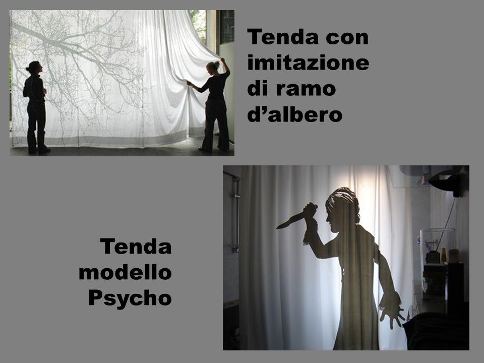 Tenda con imitazione di ramo dalbero Tenda modello Psycho