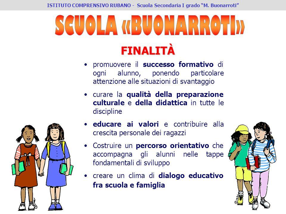 IV ISTITUTO COMPRENSIVO PADOVA - Scuola Secondaria I° grado Buonarroti promuovere il successo formativo di ogni alunno, ponendo particolare attenzione