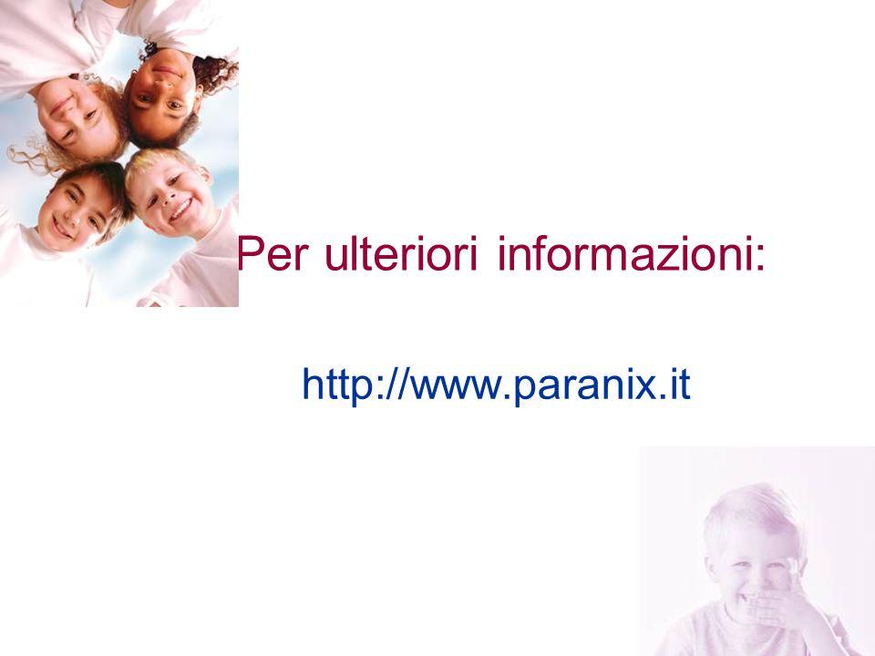 23 Per ulteriori informazioni: http://www.paranix.it