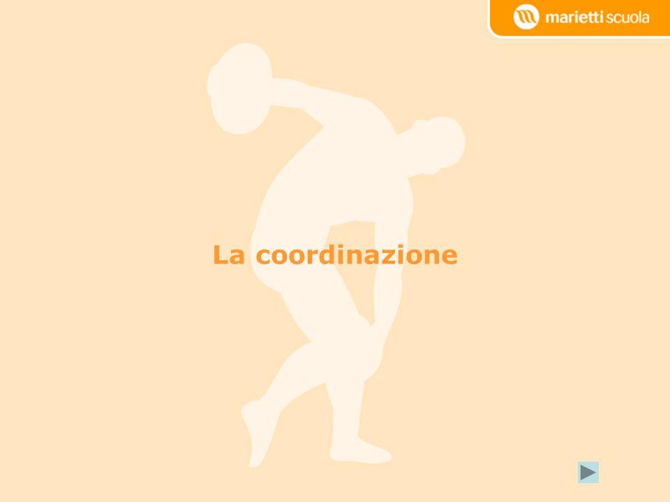 La capacità di orientamento La capacità di orientamento spazio- temporale consente di organizzare e/o variare le posizioni e i movimenti del corpo nellambito dello spazio e del tempo in cui si opera.