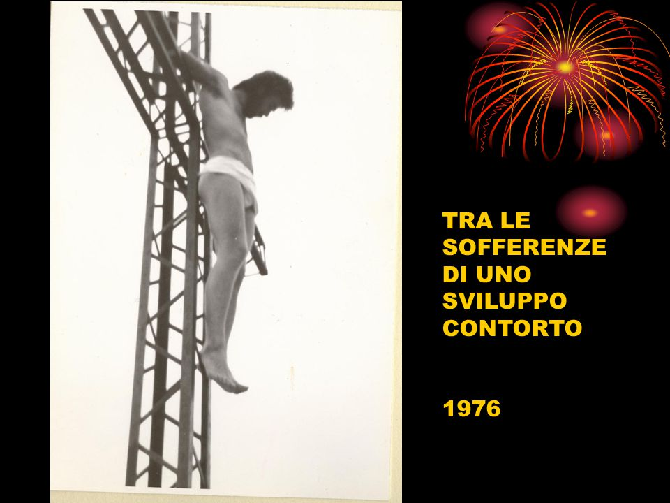 TRA LE SOFFERENZE DI UNO SVILUPPO CONTORTO 1976