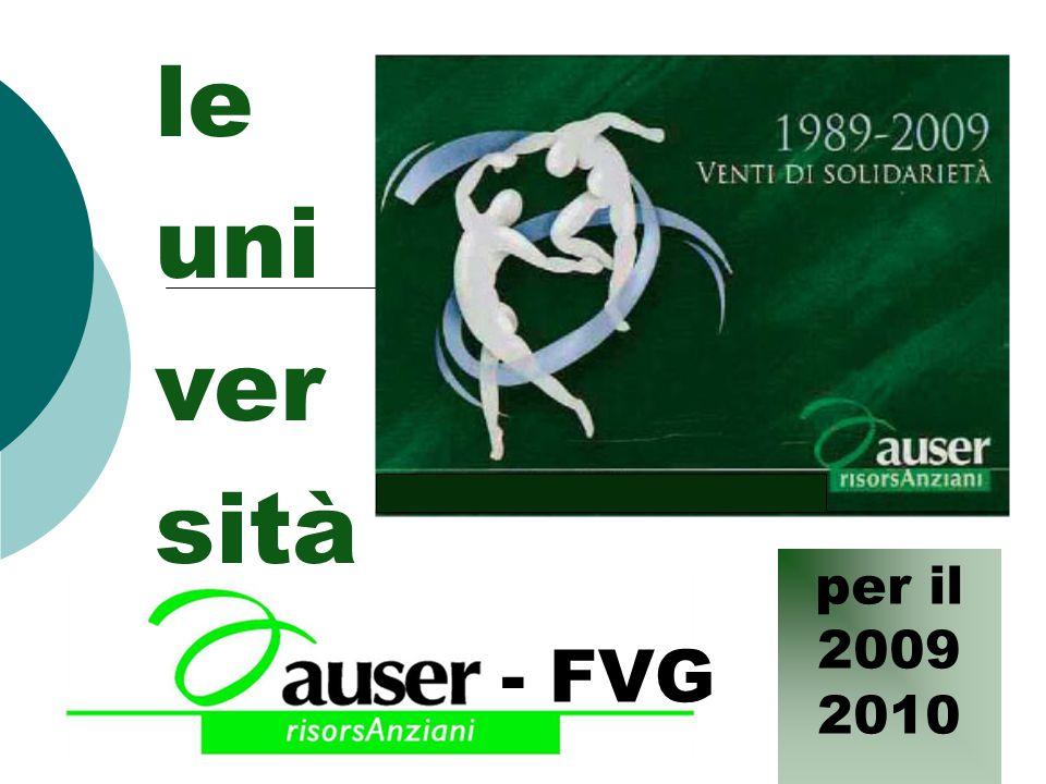 - FVG le uni ver sità per il 2009 2010