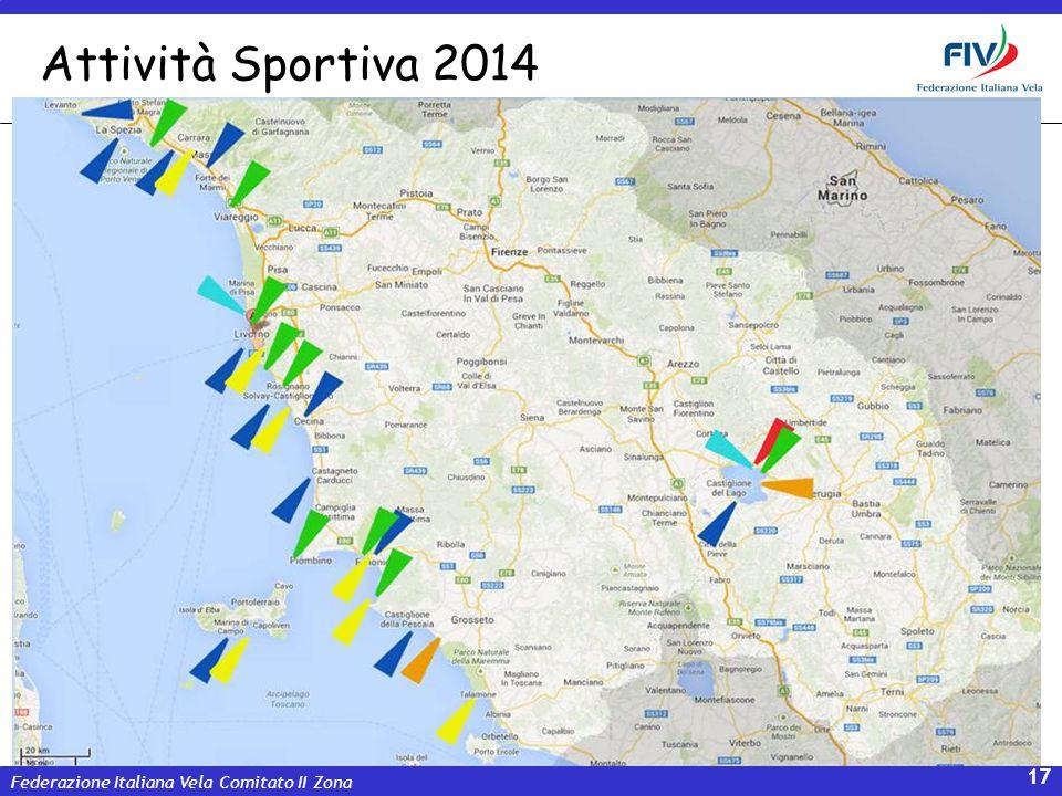 Federazione Italiana Vela Comitato II Zona 17 Attività Sportiva 2014
