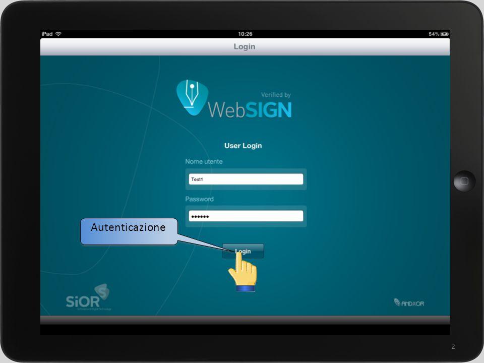 un sistema integrato per la gestione della rete commerciale 2 Autenticazione