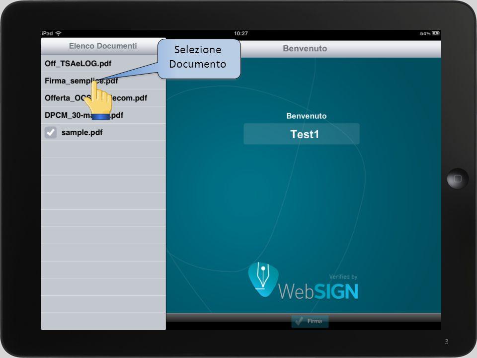 un sistema integrato per la gestione della rete commerciale 3 Selezione Documento