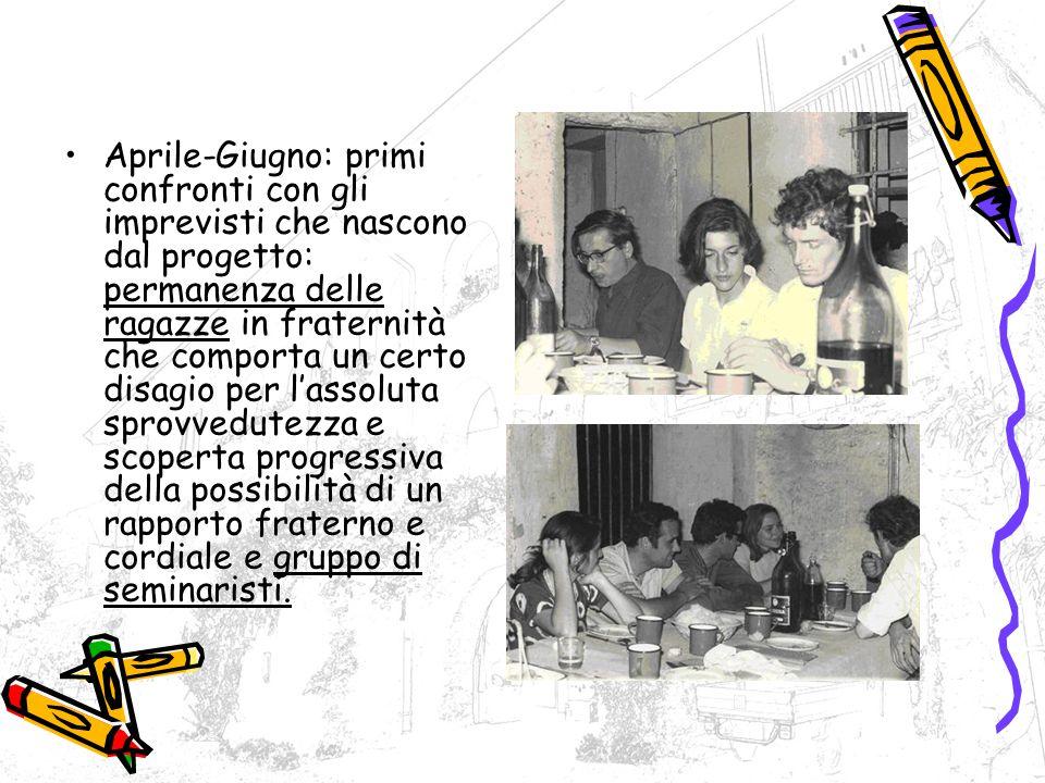Luglio 1970: Arrivano P.Paolo e p. Ildefonso.
