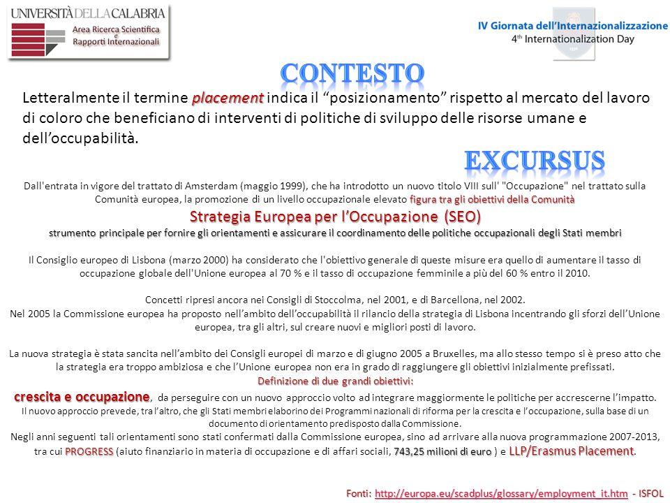 Il tirocinio, ai sensi dallart.10 del D.M. 509/1999 (modificato dal D.M.