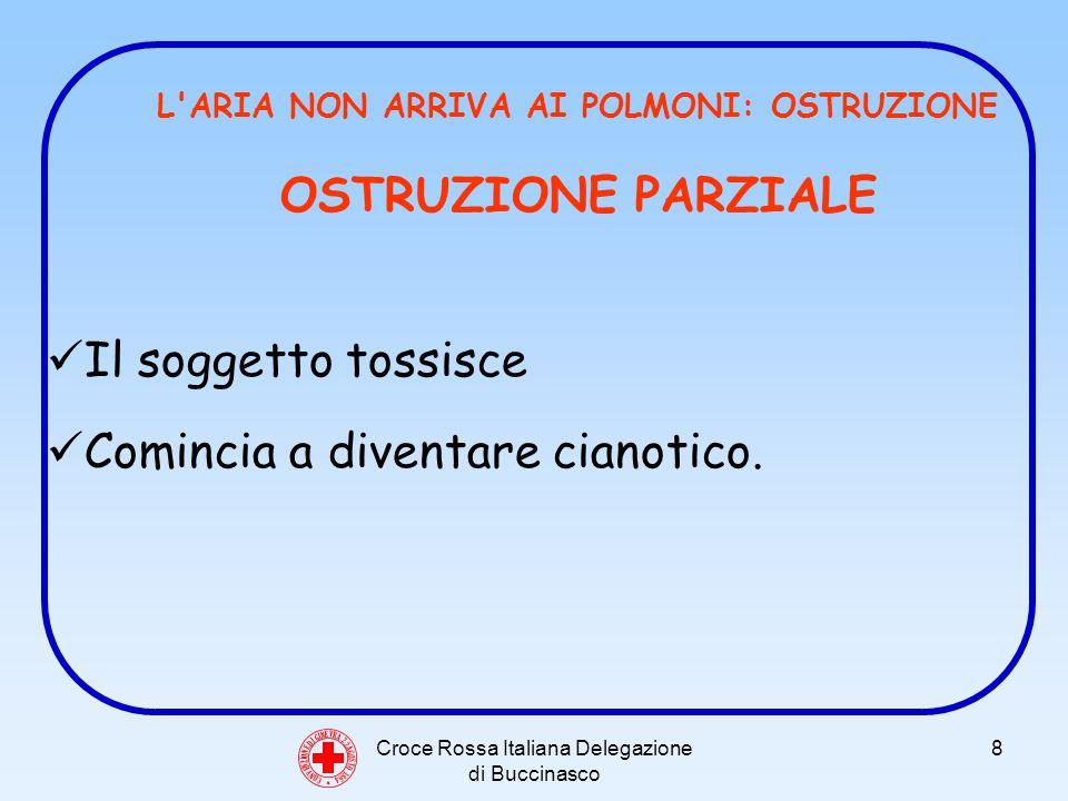 Croce Rossa Italiana Delegazione di Buccinasco 29 C O N V E N Z I O N E D I G I N E V R A 2 2 A G O S T O 1 8 6 4 COMPOSIZIONE ALTERATA DELLARIA LARIA È ALTERATA POICHÉ: SONO CAMBIATE LE PROPORZIONI DEI NORMALI COMPONENTI DELLARIA ATMOSFERICA ARIA CHE SI RESPIRA NON CONTIENE ABBASTANZA OSSIGENO (Es.