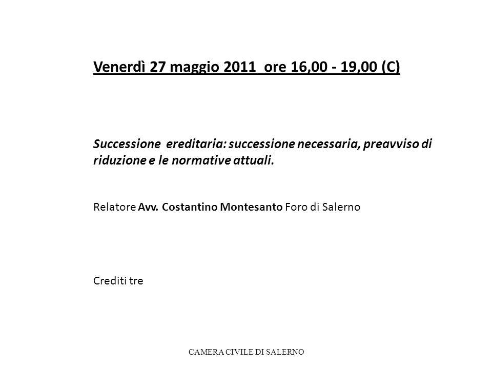Venerdì 23 settembre 2011 ore 16,00 - 19,00 (C.PC) Le locazioni urbane: aggiornamenti sulle problematiche sostanziali e processuali.