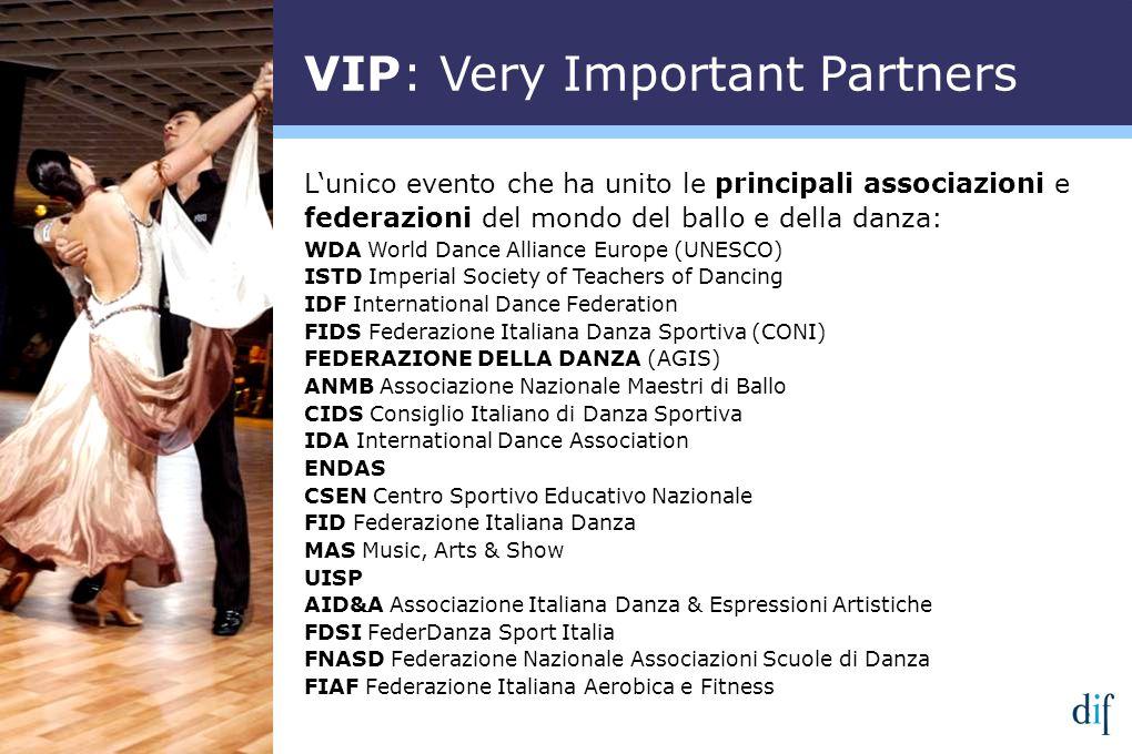 Lunico evento che ha unito le principali associazioni e federazioni del mondo del ballo e della danza: WDA World Dance Alliance Europe (UNESCO) ISTD I