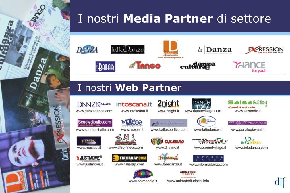 I nostri Web Partner I nostri Media Partner di settore