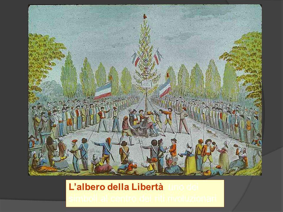 Lalbero della Libertà uno dei simboli al centro dei riti rivoluzionari