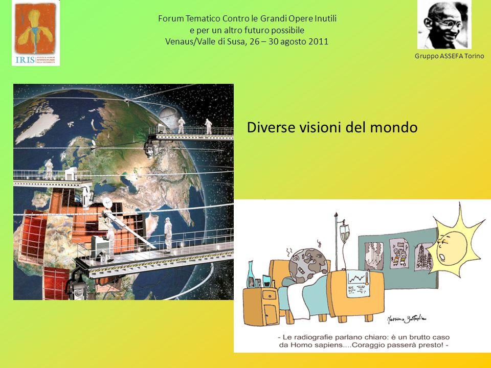 Forum Tematico Contro le Grandi Opere Inutili e per un altro futuro possibile Venaus/Valle di Susa, 26 – 30 agosto 2011 Gruppo ASSEFA Torino Diverse v