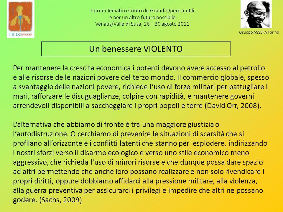 Forum Tematico Contro le Grandi Opere Inutili e per un altro futuro possibile Venaus/Valle di Susa, 26 – 30 agosto 2011 Gruppo ASSEFA Torino Per mante