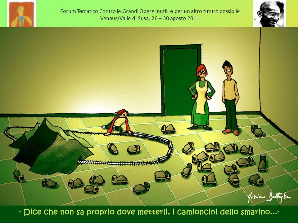 Forum Tematico Contro le Grandi Opere Inutili e per un altro futuro possibile Venaus/Valle di Susa, 26 – 30 agosto 2011 Gruppo ASSEFA Torino