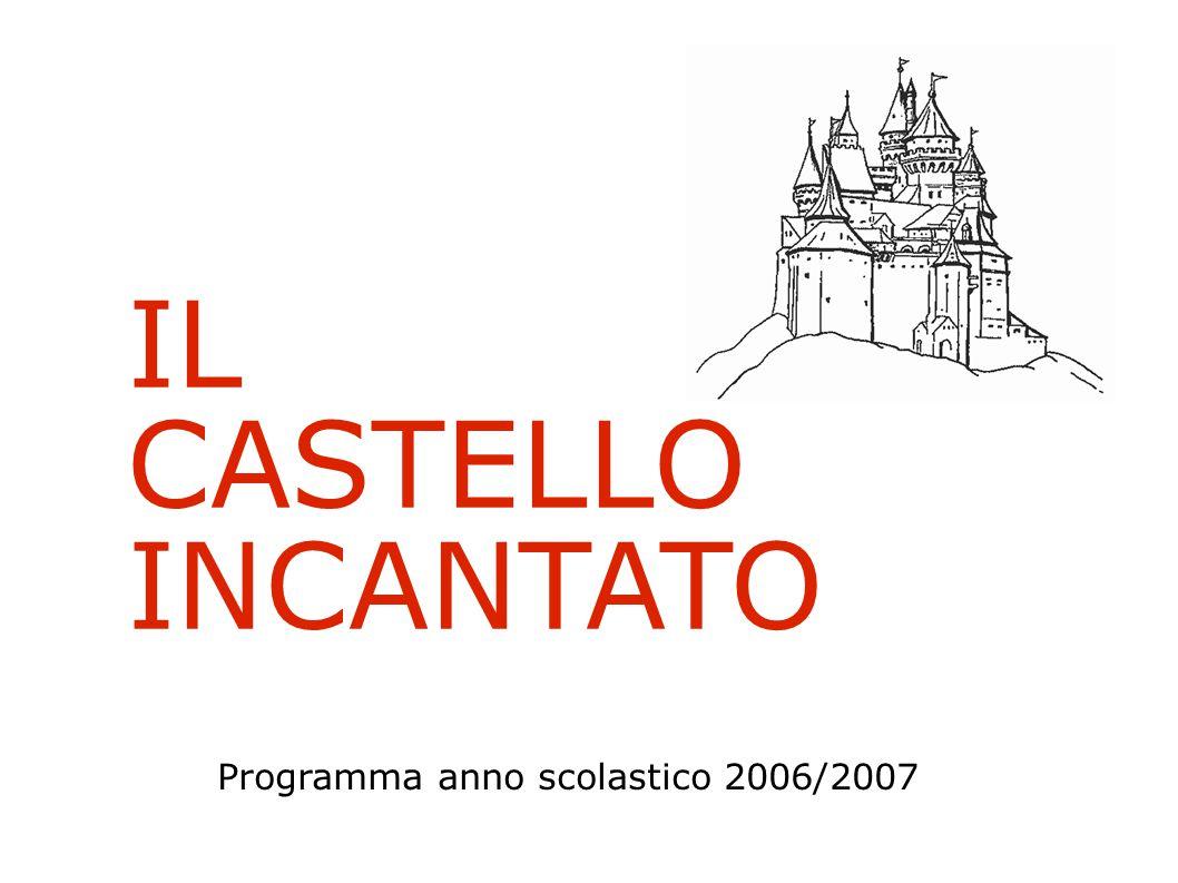 IL CASTELLO INCANTATO Programma anno scolastico 2006/2007