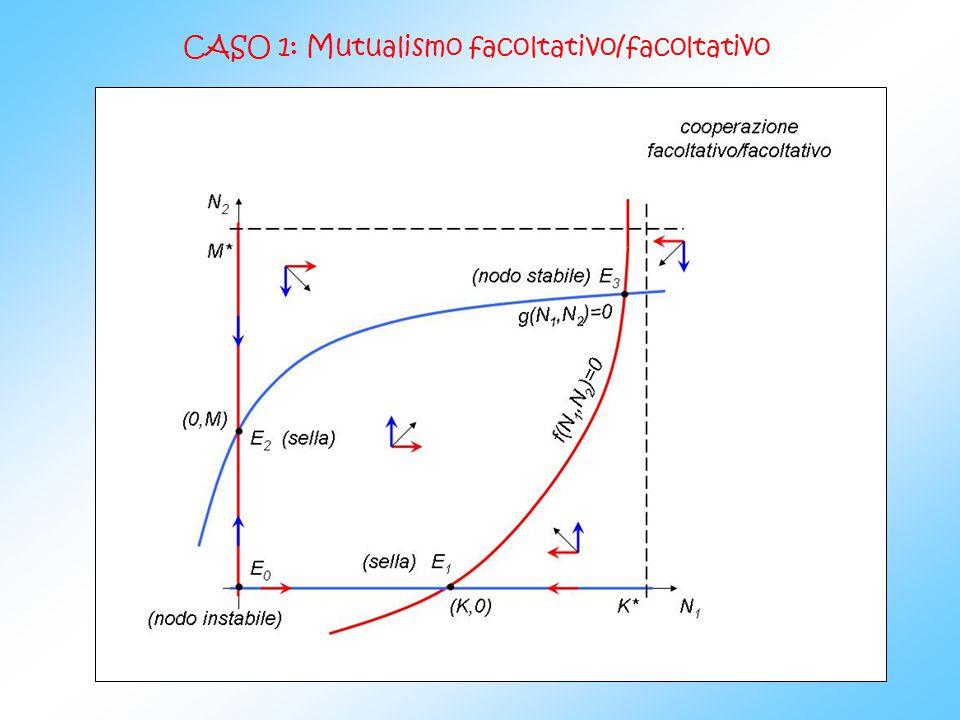CASO 2: Mutualismo obbligatorio/obbligatorio
