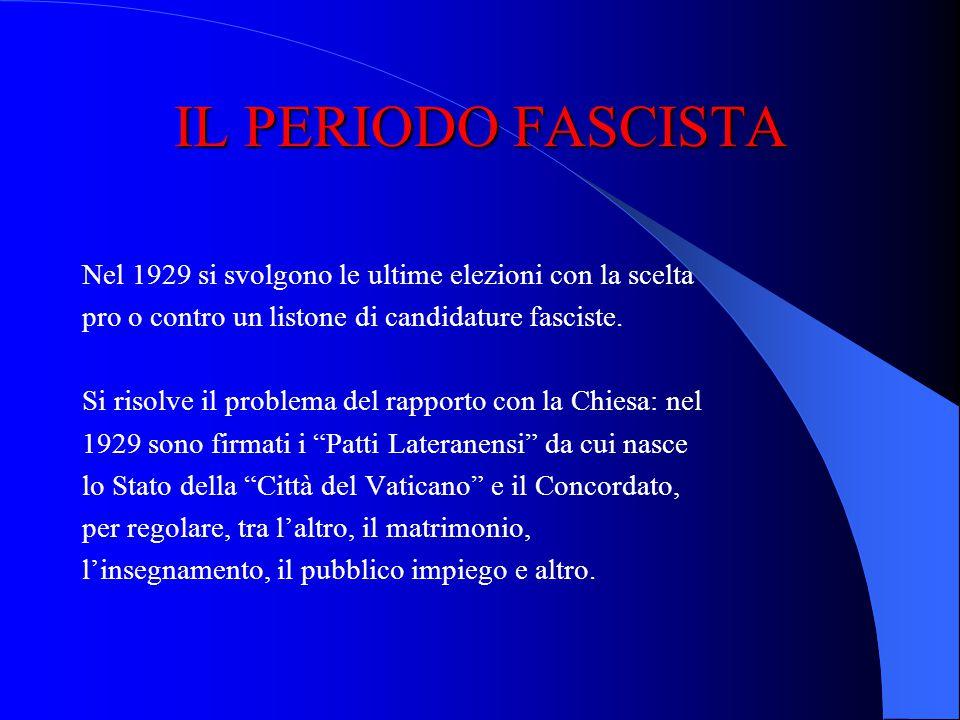 1929-1936 LA STABILIZZAZIONE E IL CONSENSO Due date di riferimento internazionali: – Crisi economica di wall street (1929) – Proclamazione dellImpero