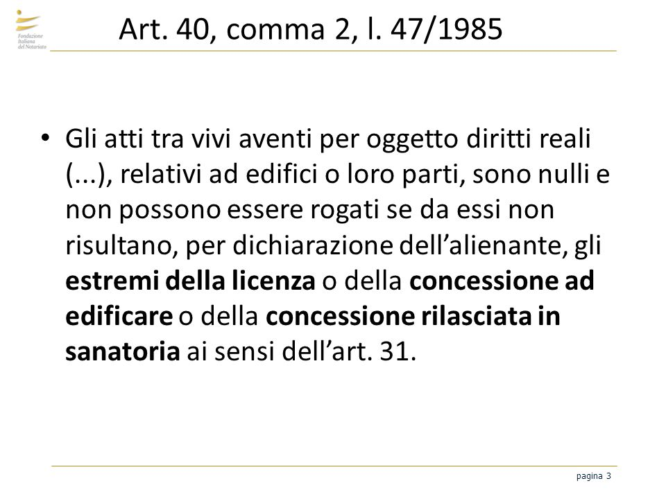 pagina 4 Art.40, comma 2, l.
