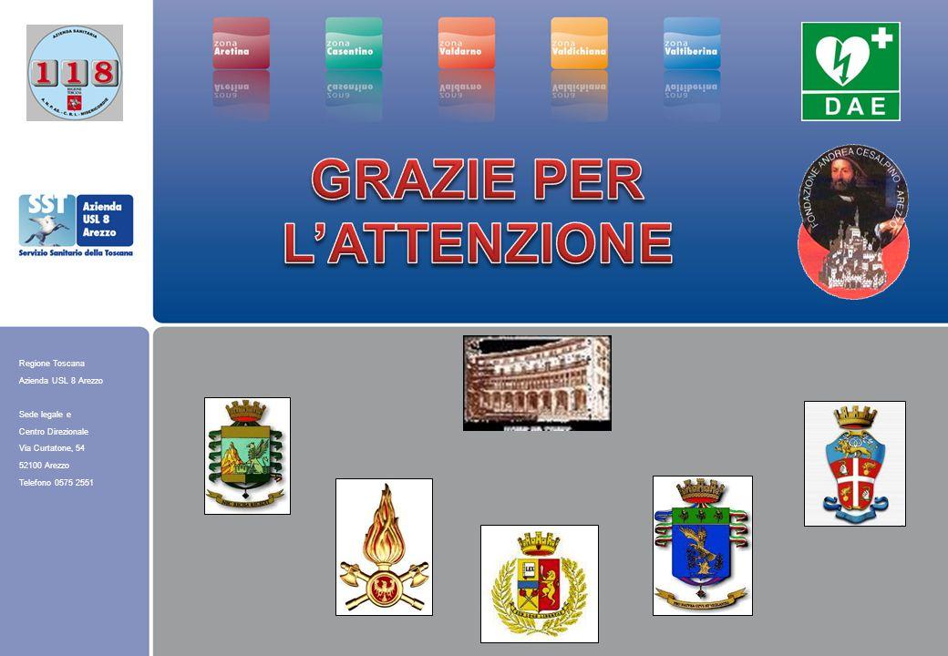 Regione Toscana Azienda USL 8 Arezzo Sede legale e Centro Direzionale Via Curtatone, 54 52100 Arezzo Telefono 0575 2551