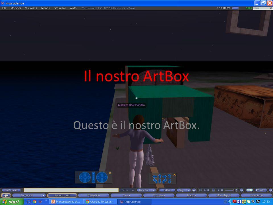 Il nostro ArtBox Questo è il nostro ArtBox.