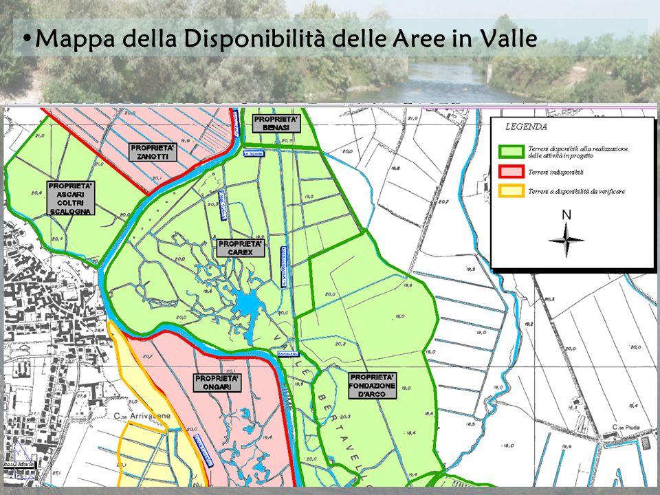 Mappa della Disponibilità delle Aree in Valle