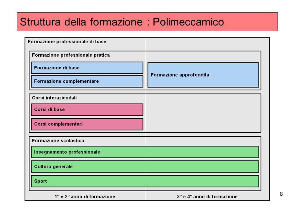 8 Struttura della formazione : Polimeccamico