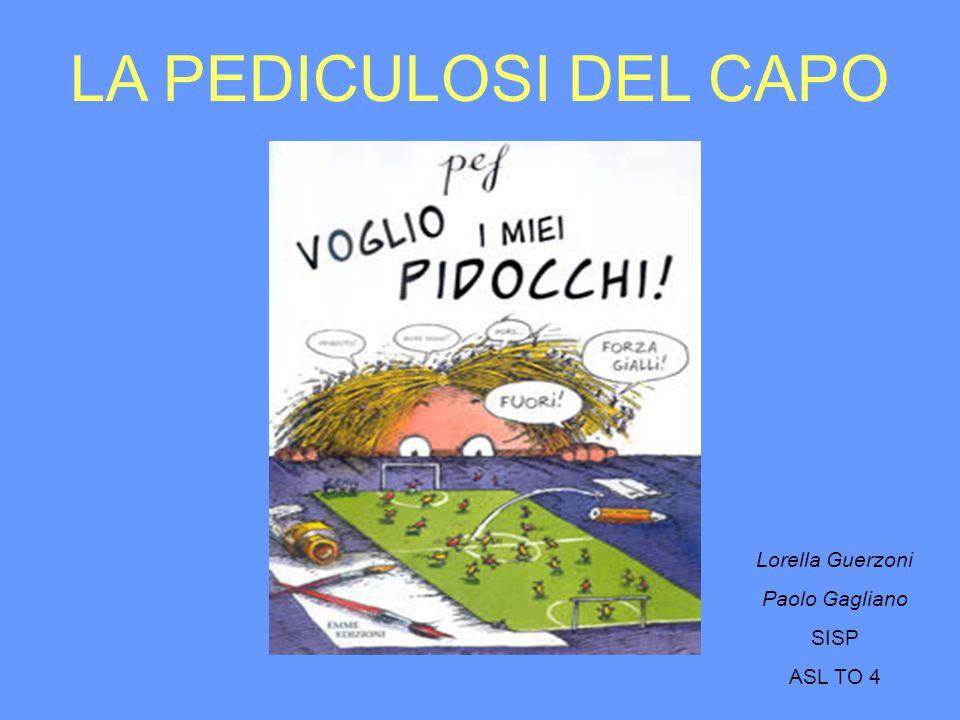 LA PEDICULOSI DEL CAPO Lorella Guerzoni Paolo Gagliano SISP ASL TO 4