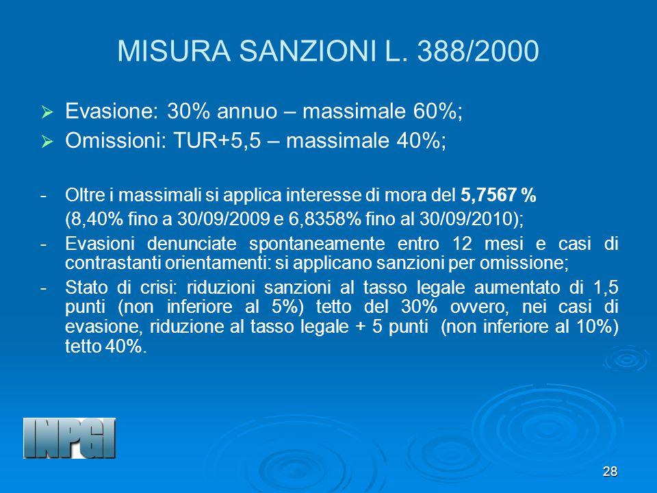 28 MISURA SANZIONI L.