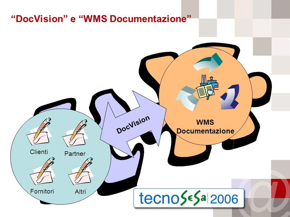WMS Documentazione DocVision e WMS Documentazione Clienti Fornitori Partner Altri DocVision