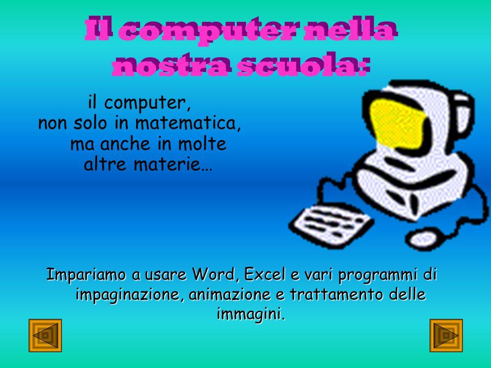 Qui imparerai ad utilizzare al meglio il tuo computer e a lavorare con PowerPoint, Word, Excel…