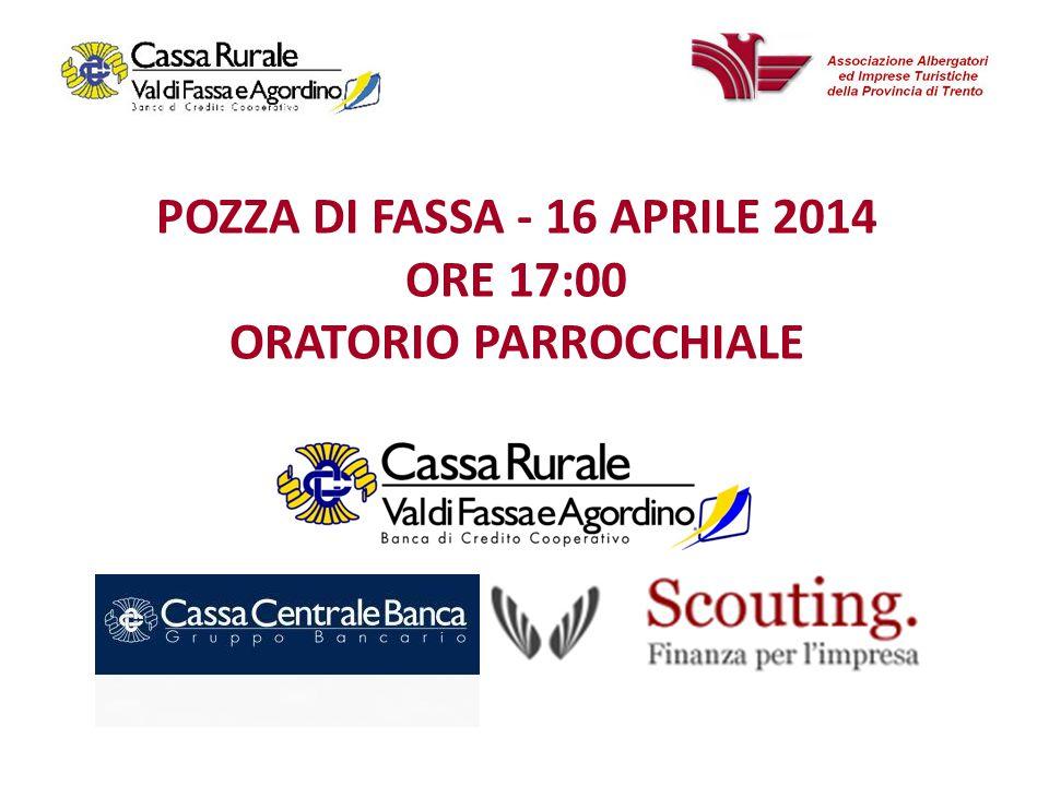 POZZA DI FASSA - 16 APRILE 2014 ORE 17:00 ORATORIO PARROCCHIALE