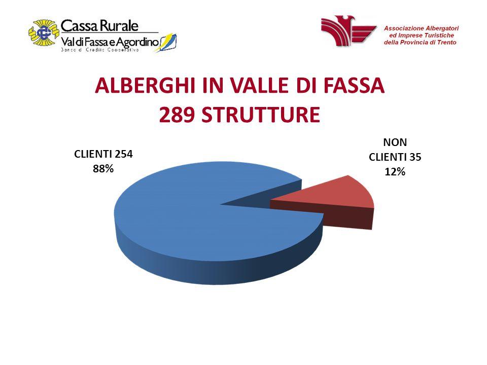 19 Albergo «Val di Fassa» Flussi turistici medi albergo «Val di Fassa» Fatturato stabile nel triennio, ma marginalità lorda in riduzione per la crescita dellincidenza dei costi operativi.
