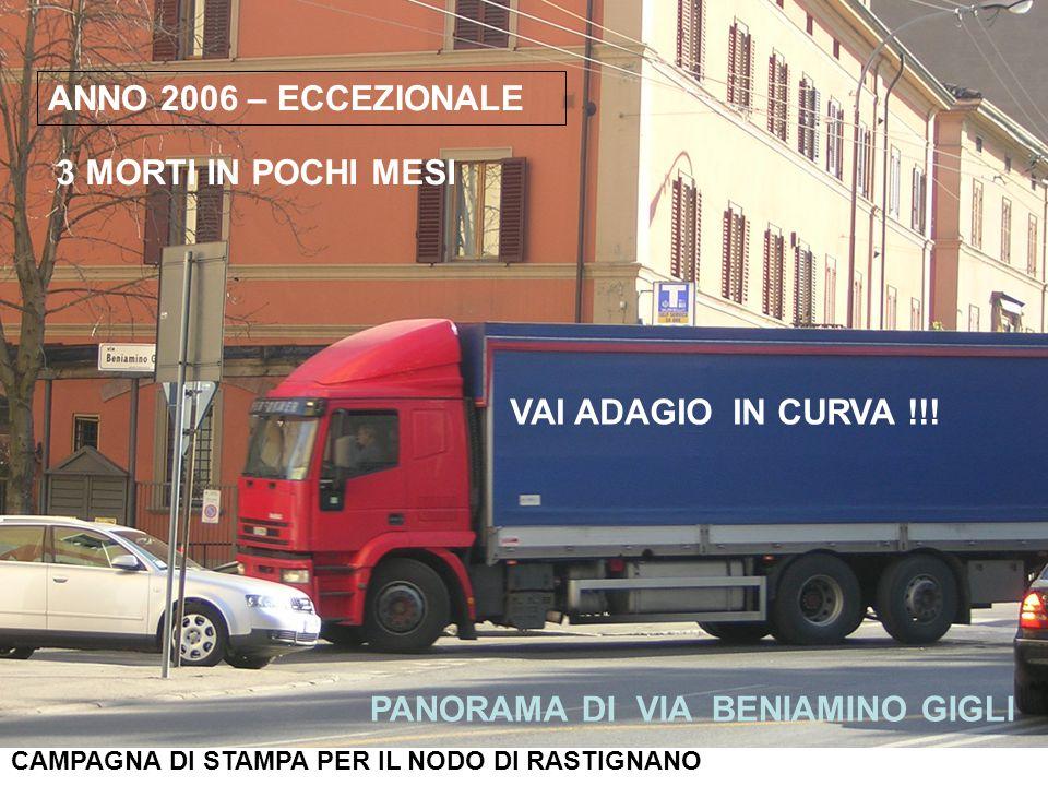 ANNO 2006 – ECCEZIONALE 3 MORTI IN POCHI MESI VAI ADAGIO IN CURVA !!.