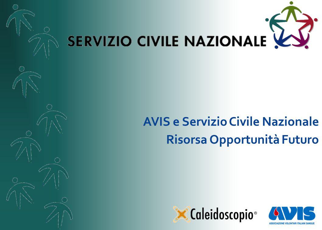 AVIS e Servizio Civile Nazionale Risorsa Opportunità Futuro