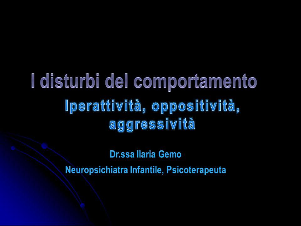 Dr.ssa Ilaria Gemo Neuropsichiatra Infantile, Psicoterapeuta
