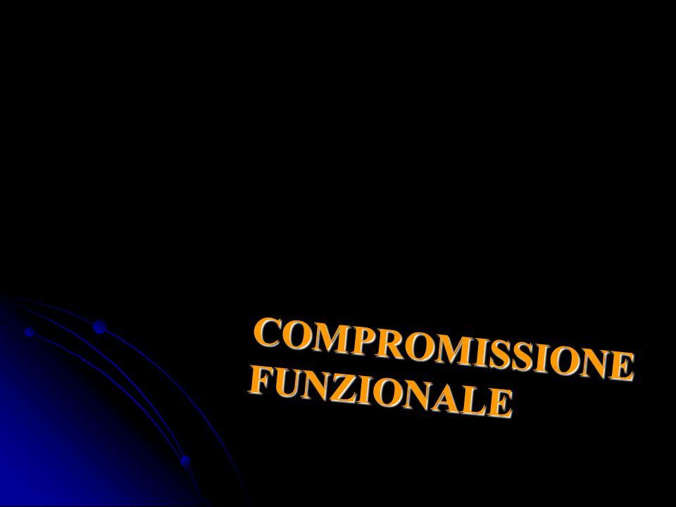 COMPROMISSIONE FUNZIONALE