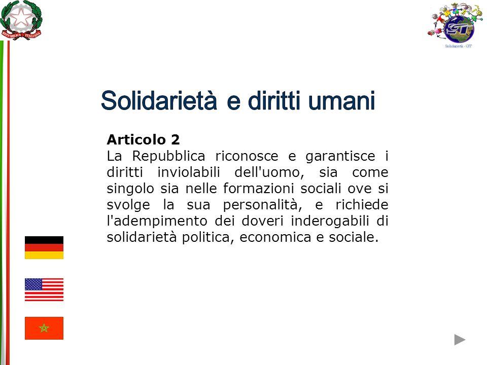 3.Uguaglianza Articolo IV - Sezione 2: I cittadini di ciascuno Stato hanno diritto in tutti gli altri Stati a tutti i privilegi e immunità dei cittadini (…).