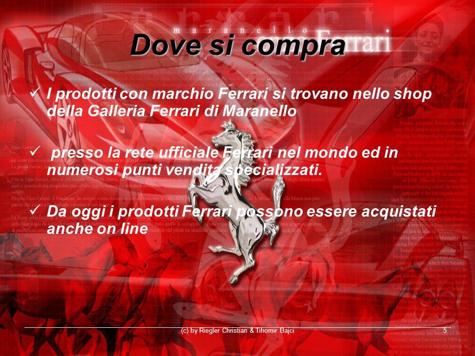 (c) by Riegler Christian & Tihomir Bajci5 Dove si compra I prodotti con marchio Ferrari si trovano nello shop della Galleria Ferrari di Maranello pres