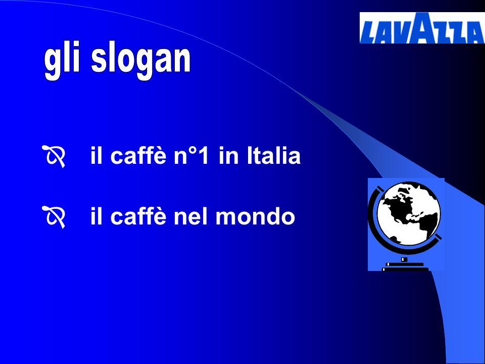 il caffè n°1 in Italia il caffè nel mondo