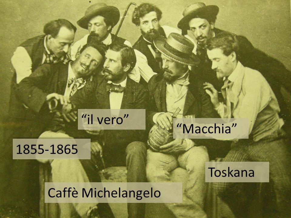 1855-1865 Toskana Macchia il vero Caffè Michelangelo