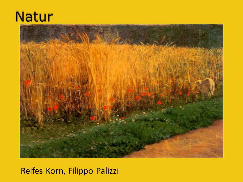 Natur Reifes Korn, Filippo Palizzi