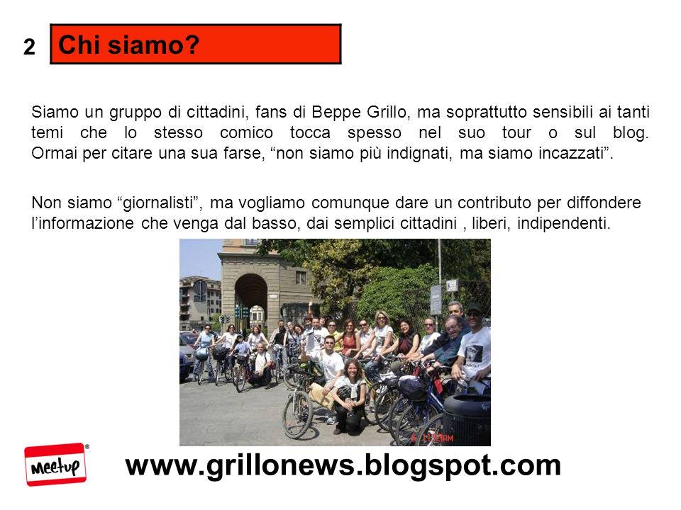 www.grillonews.blogspot.com Chi siamo.