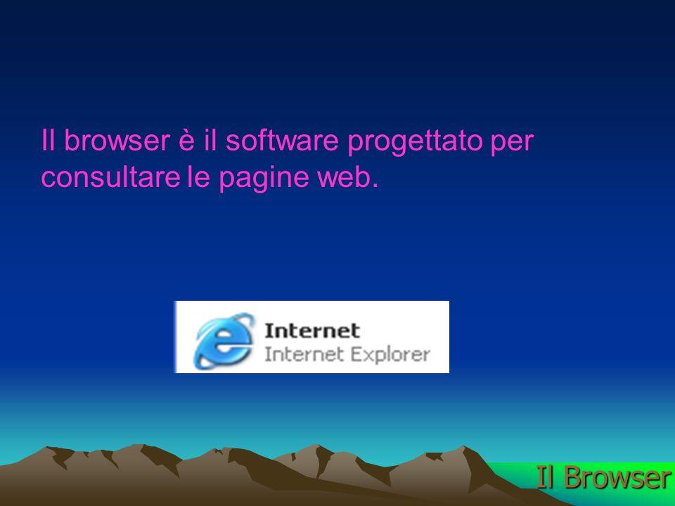 Il browser è il software progettato per consultare le pagine web. Il Browser