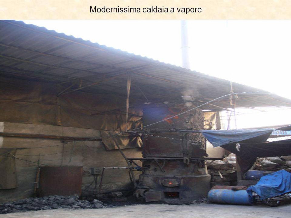 Modernissima caldaia a vapore