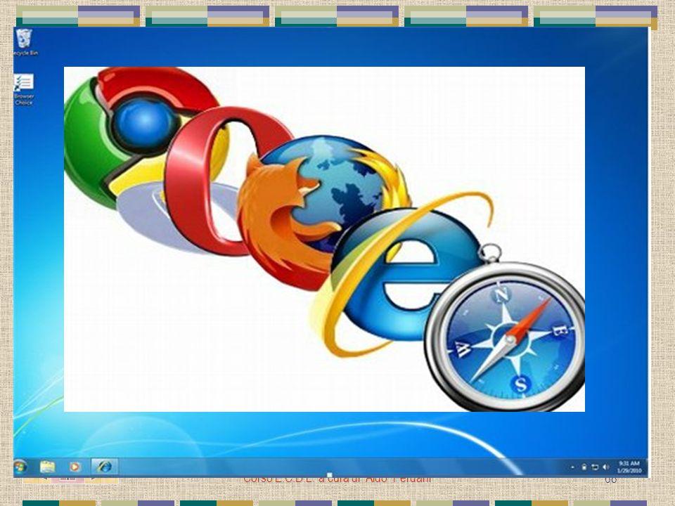 Corso E.C.D.L. a cura di Aldo Ferdani 68 IL BROWSER Software che consente la navigazione in INTERNET L' UE, dopo una denuncia partita dai norvegesi de