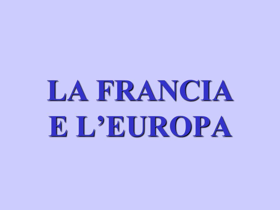 LA FRANCIA E LEUROPA